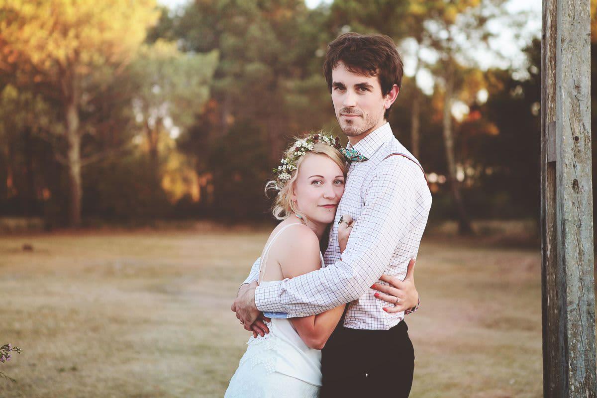 couple mariés sortie église
