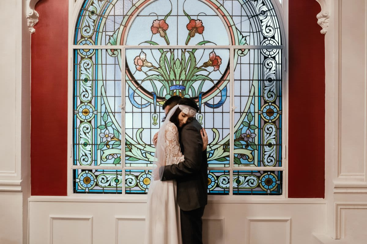 couple vitrine orientale