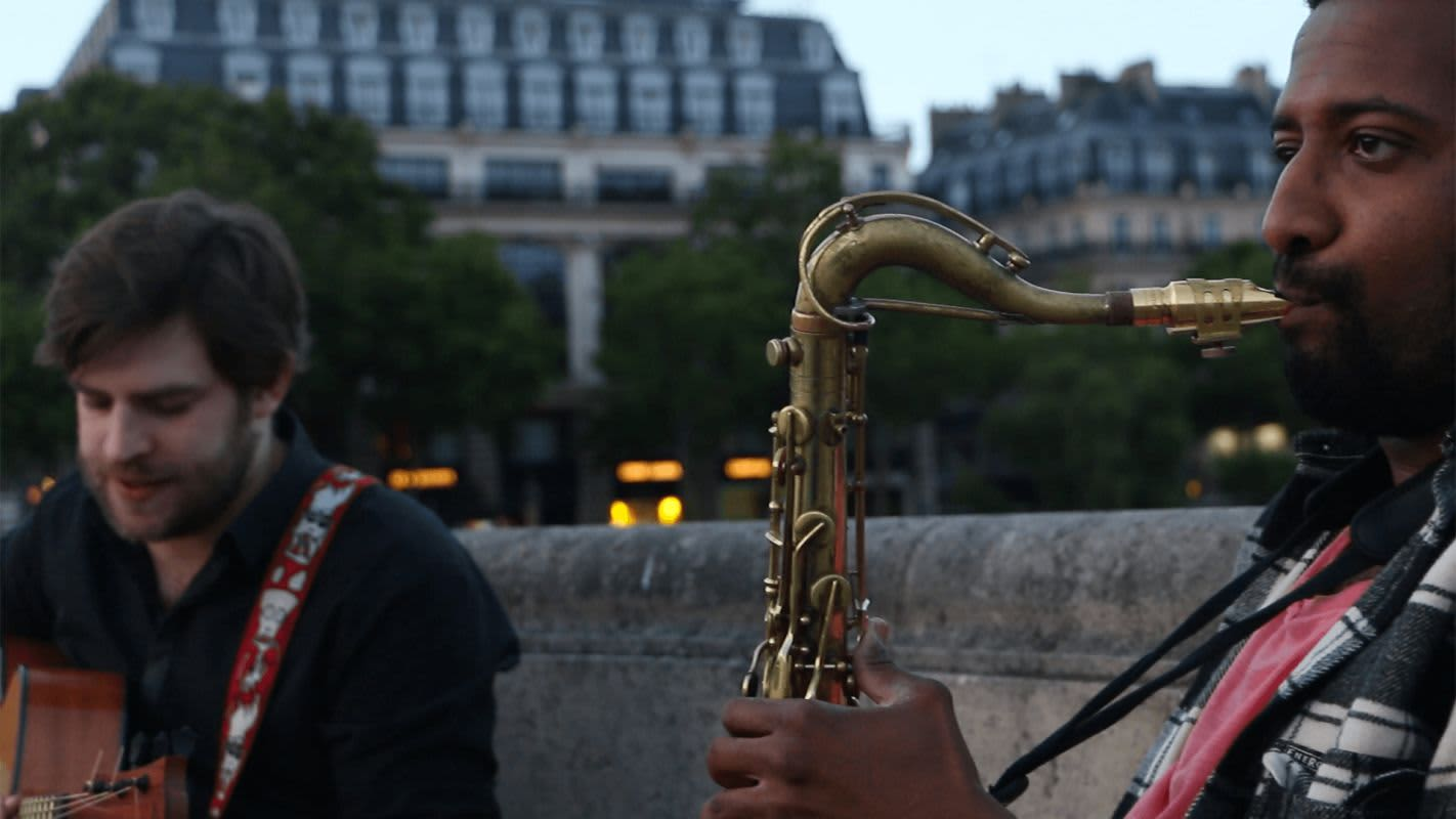 Etienne Belin Ismael Groupe musique Saxophone guitare