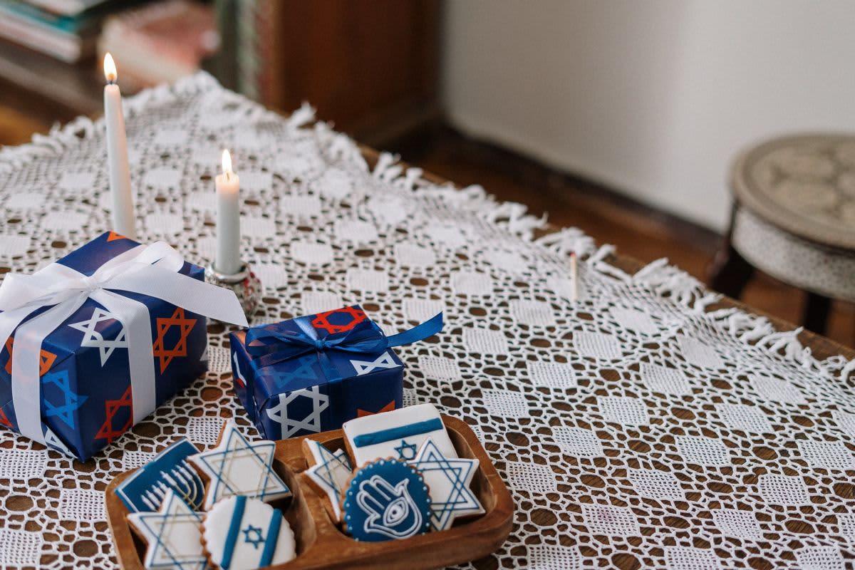 décoration table bar mitzvah