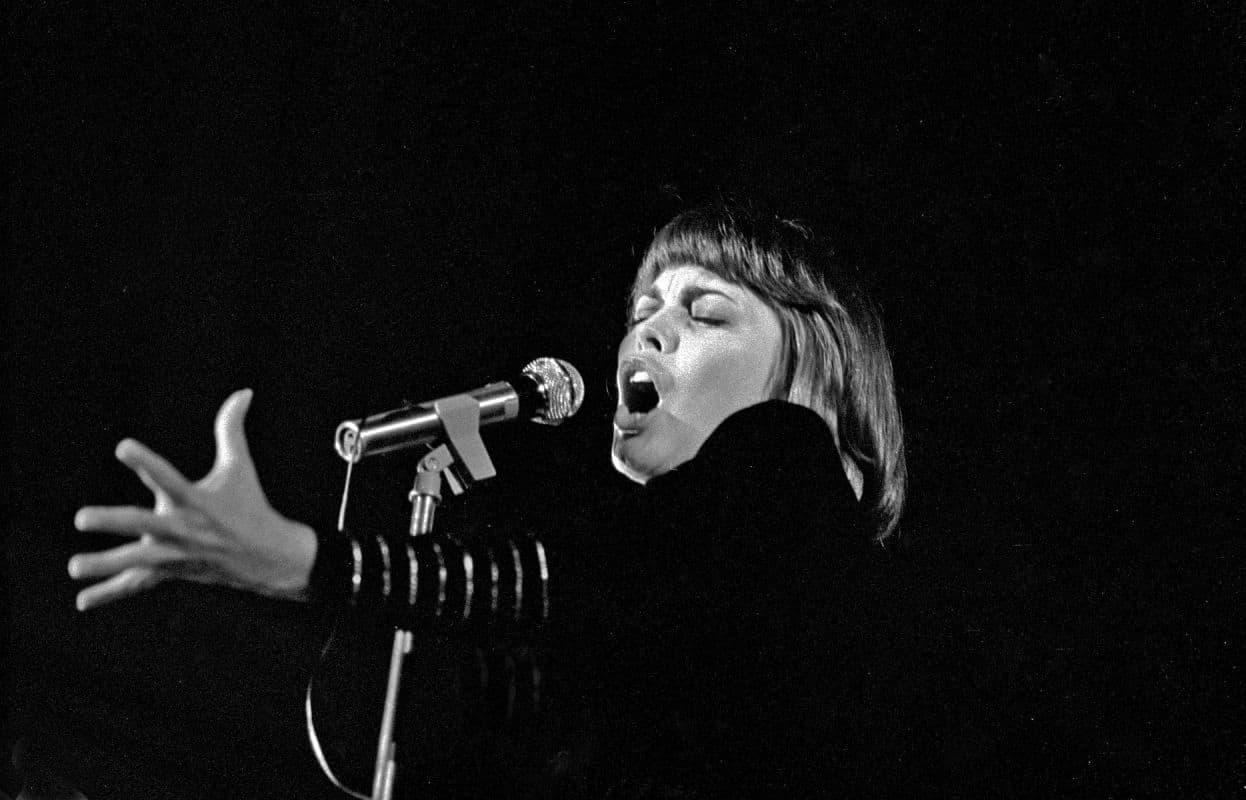 Chanteuse française année 80