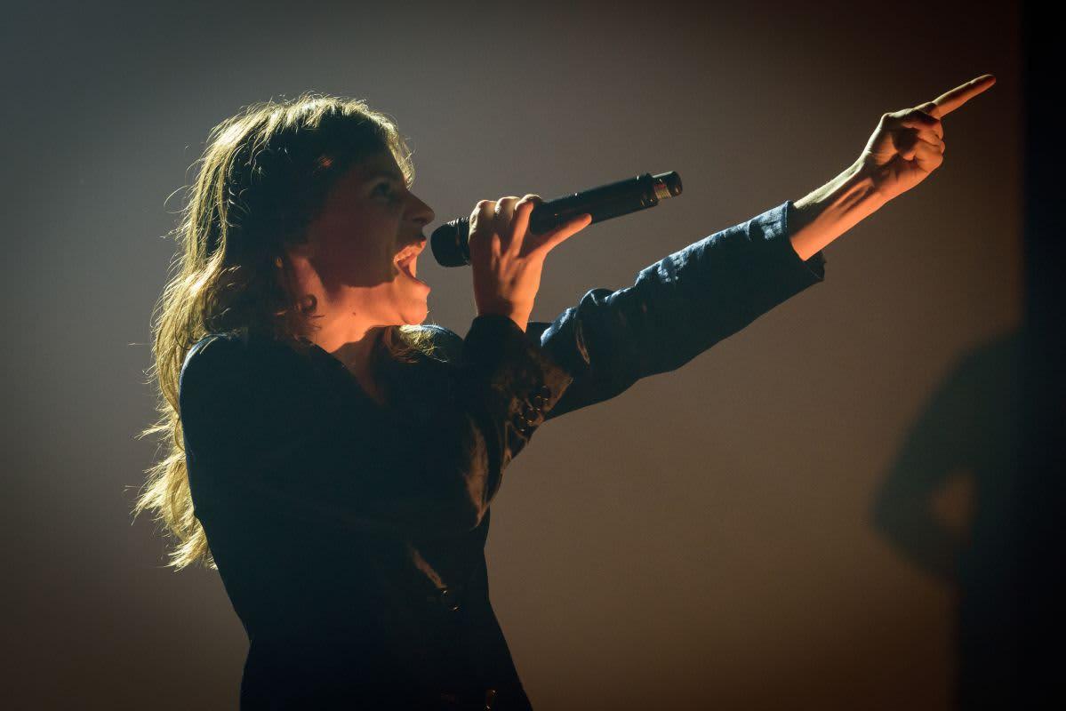 Chanteuse française année 2010
