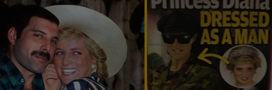 Le jour où la princesse Diana est sortie dans un bar gay avec Freddie Mercury