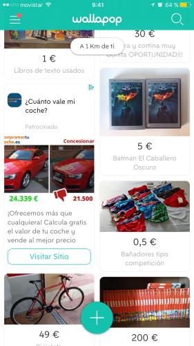 Anuncio de compramostucoche.es en wallapop el 31 de Julio de 2017