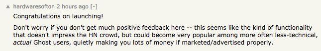 Hacker News Comment 3
