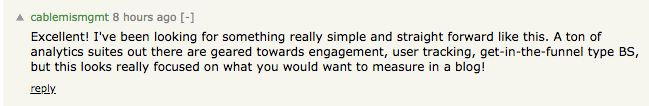 Hacker News Comment 2