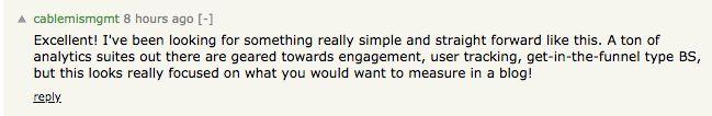 Hacker News Comment 2