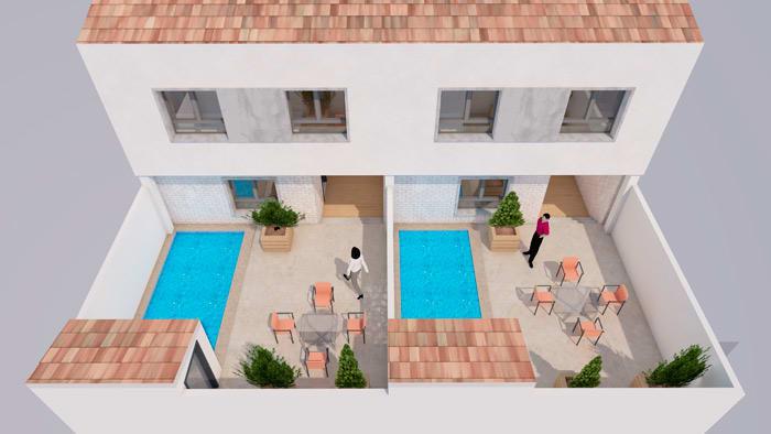 Proyecto de construcción de casas en Mérida