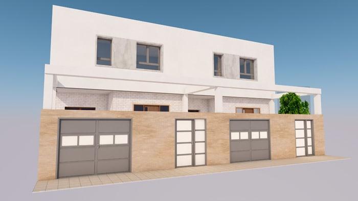 Proyectos de construcción de casas unifamiliares en Badajoz