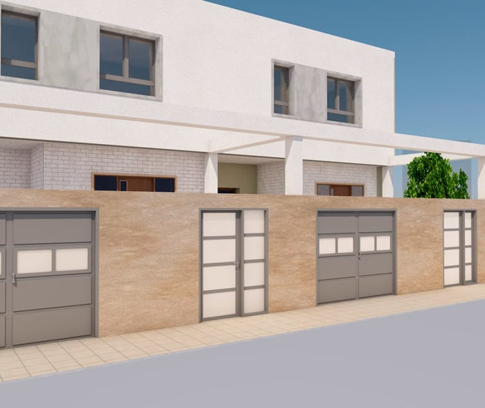 Proyecto 2 viviendas unifamiliares Jaraiz