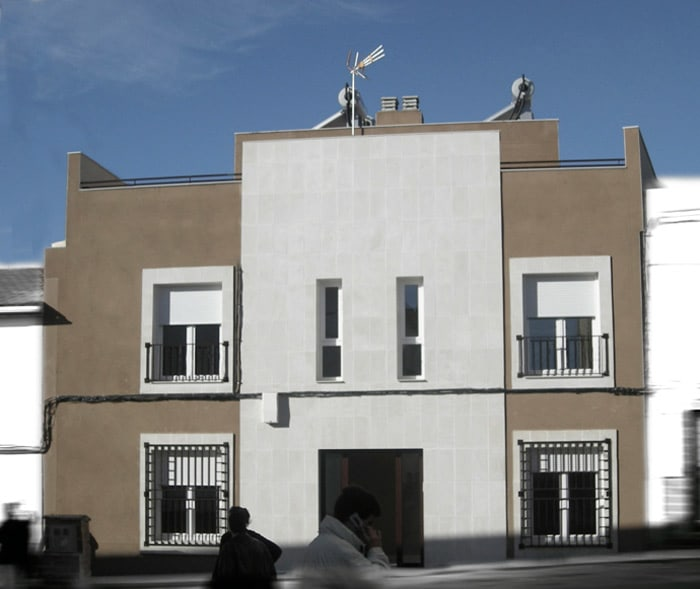 Bloque de viviendas en San Pedro de Mérida