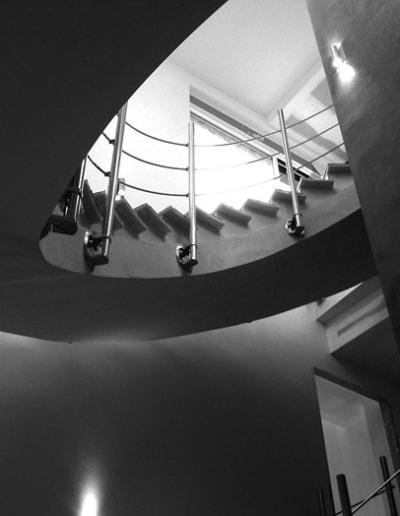 Escaleras de diseño del arquitecto en Mérida Castro Mateos
