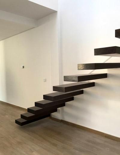 Diseños de escaleras modernas del arquitecto en Mérida