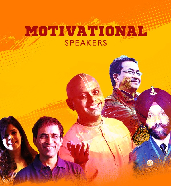 Book top motivational speakers in India for corporate events. Hire trending motivational speakers.