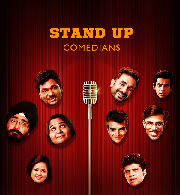 Book top stand up comedians in India for corporate events. Hire trending stand up comedians.