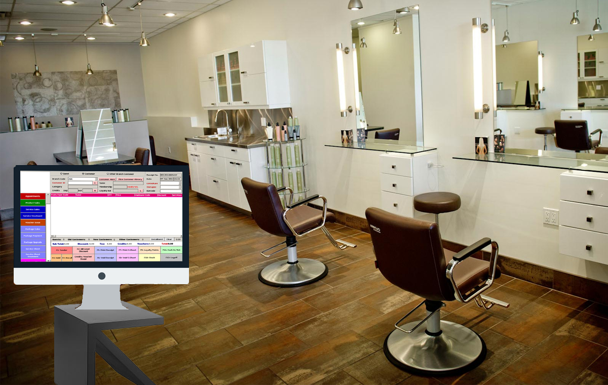 The largest retail POS software in Bangladesh beautyparlour-software Beauty Parlor