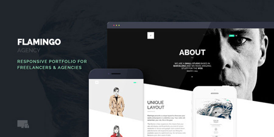 Flamingo Agency Freelance Portfolio Theme