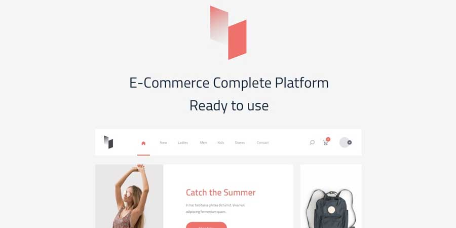 Avin A Multi-Concept Ecommerce Sketch Template