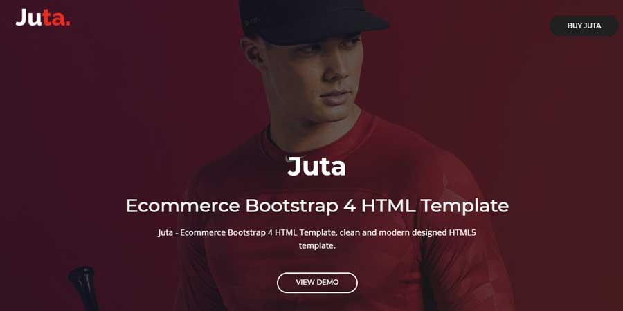 Juta - eCommerce Bootstrap 4 HTML Template