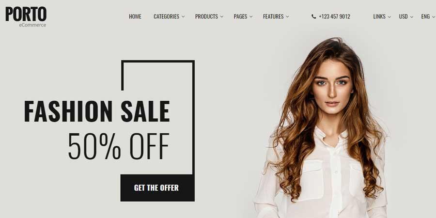 Porto - Shop Responsive eCommerce HTML Template