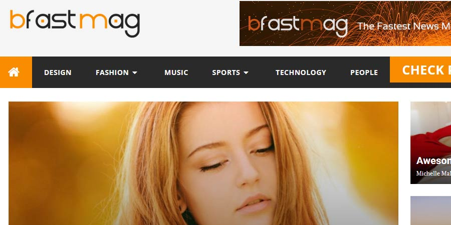 BfastMag Blogger Template