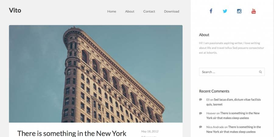 VITO Blog Theme