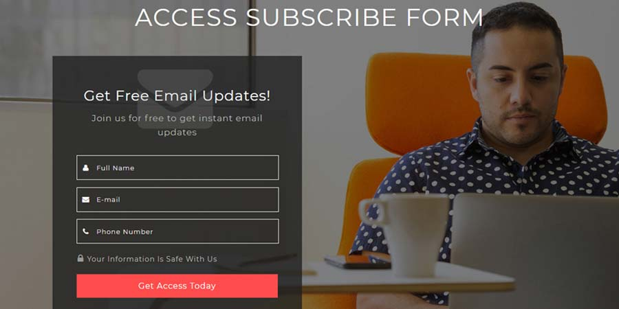 Access Subscribe Form