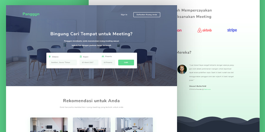 Meeting Room Booking Template