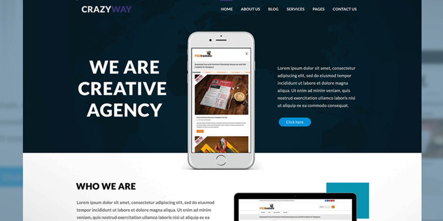Creative Agency Website