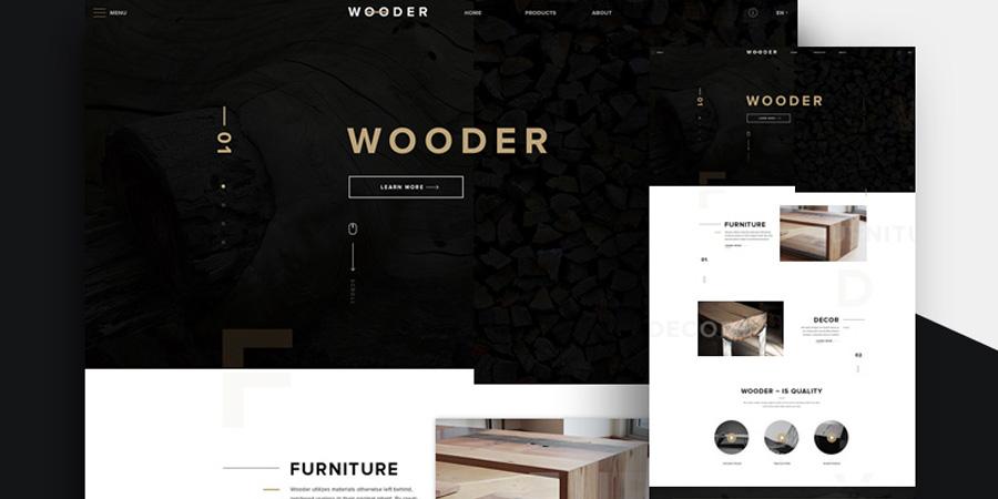 Wooder Template