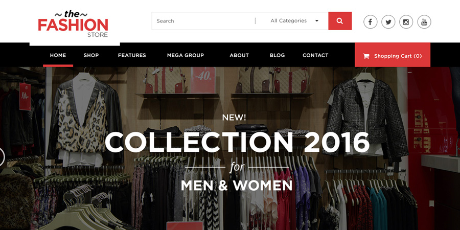 Multipurpose eCommerce Website