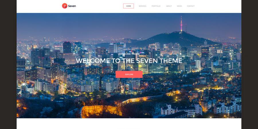 Seven - Creative Portofolio Template