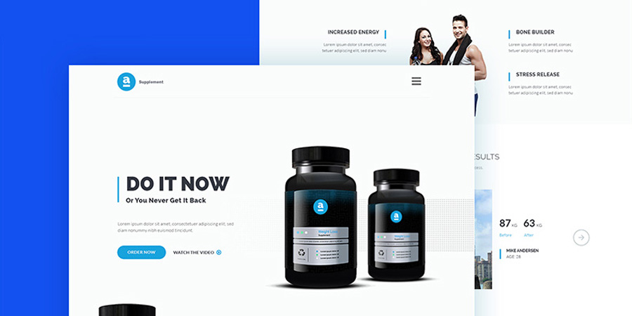 Adele Product Landing Page