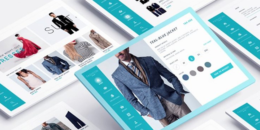 eCommerce Store Website PSD Templates