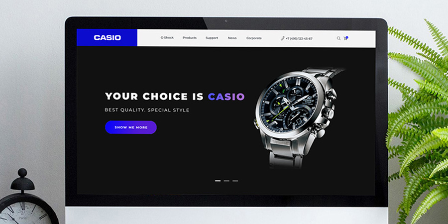 Casio Watch Redesigned PSD