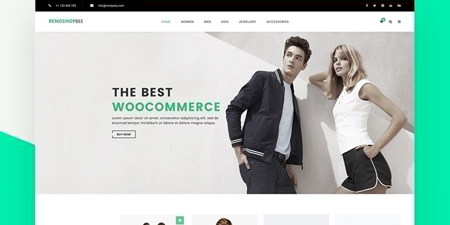 Roneshopbee e-Commerce Template