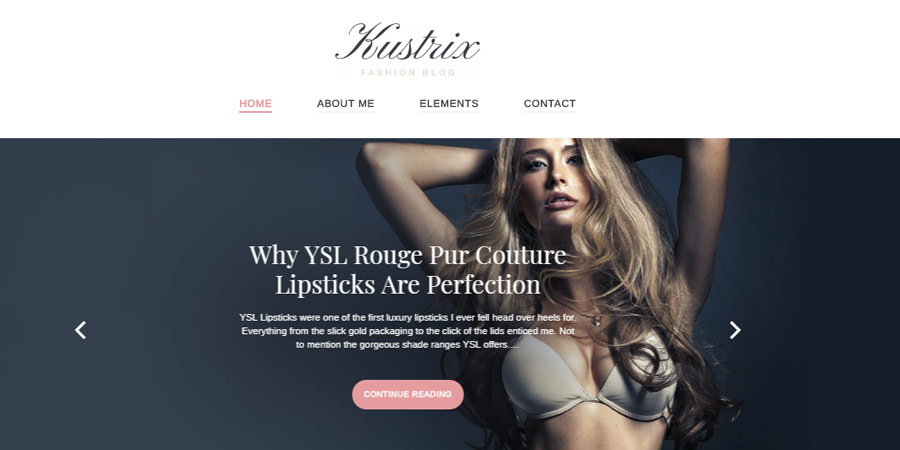 Kustrix Lite - Free WordPress Theme