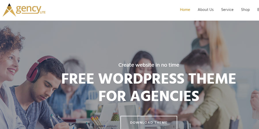 Agency Lite – Free Business WordPress Theme