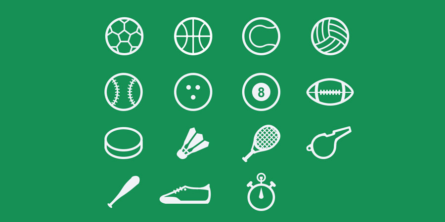Sport Icons Freebie