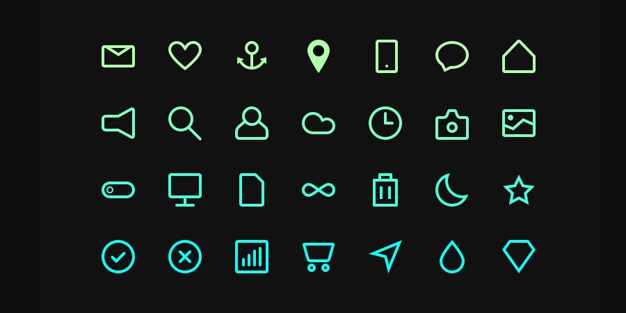 Free Icon Set #5