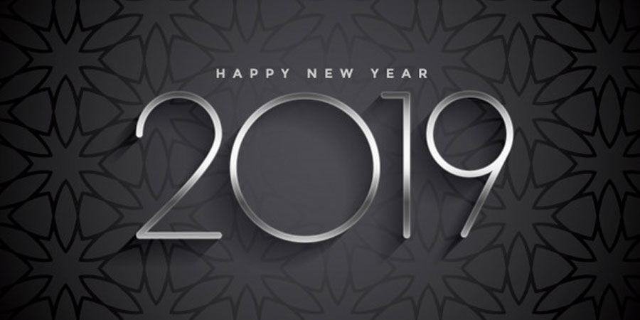 Dark 2019 Elegant Background Design