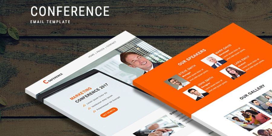 Conference - Responsive Newsletter Template