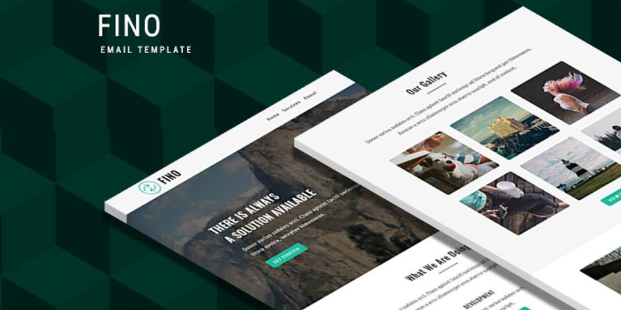 Fino - Responsive Newsletter Template