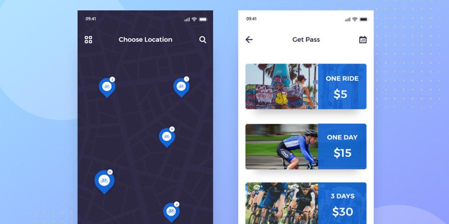 Bike Plus App XD Freebie