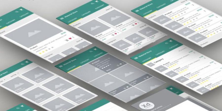 Material Shop App