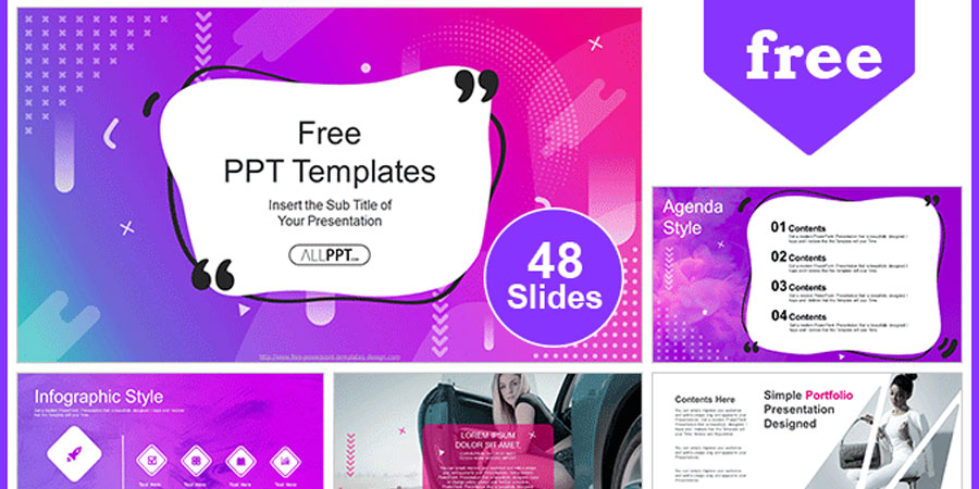 Abstract Modern Bubble PowerPoint Templates