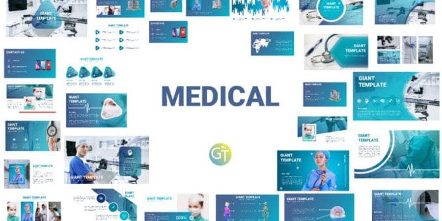 Amazing Medical 3D Animated Powerpoint Templates
