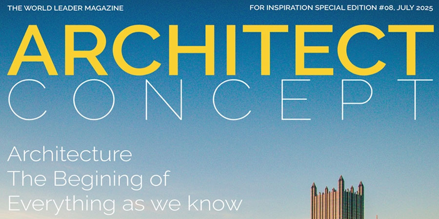 Free Architect Magazine Cover Page Template