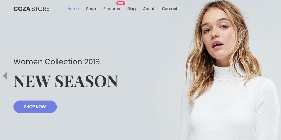 Cozastore - Free HTML5 eCommerce Website Template