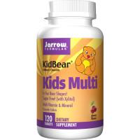 Jarrow Formulas, Kids Multi-Vitamin & Mineral, Children's Chewable, Cherry Flavor - 120 Ta